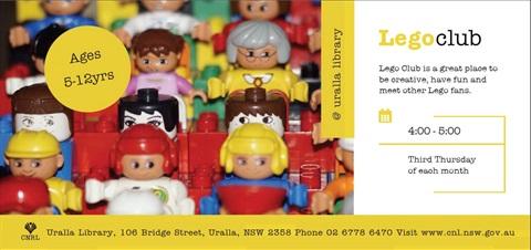 Uralla Library Lego Club